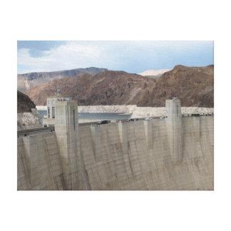 Hoover Dam Canvas Prints