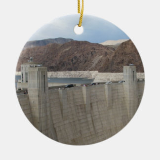 Hoover Dam Ceramic Ornament