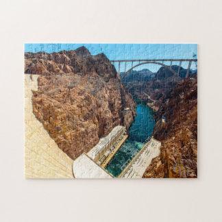 Hoover Dam Colorado. Jigsaw Puzzle