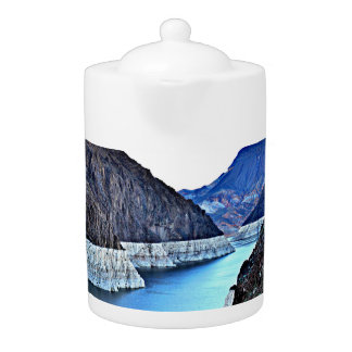 Hoover Dam/Colorado River Tea Pot