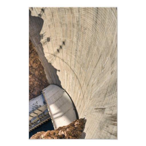Hoover Dam downstream face Photo Print