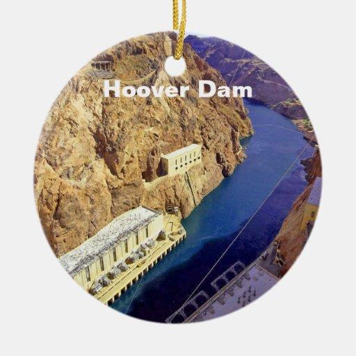 Hoover Dam in Arizona Ceramic Ornament
