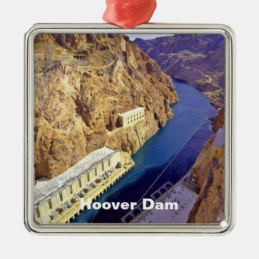 Hoover Dam in Arizona Christmas Tree Ornament