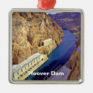 Hoover Dam in Arizona Metal Ornament