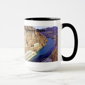 Hoover Dam in Arizona Mug