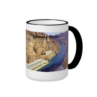 Hoover Dam in Arizona Coffee Mugs