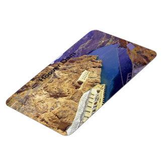 Hoover Dam in Arizona Rectangular Photo Magnet
