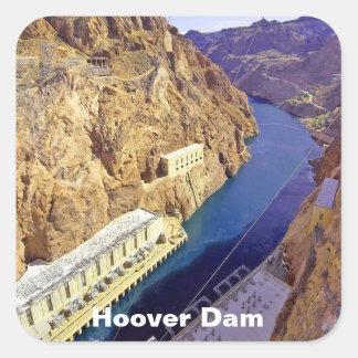 Hoover Dam in Arizona Square Sticker