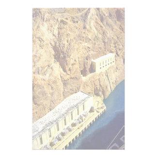 Hoover Dam in Arizona Stationery