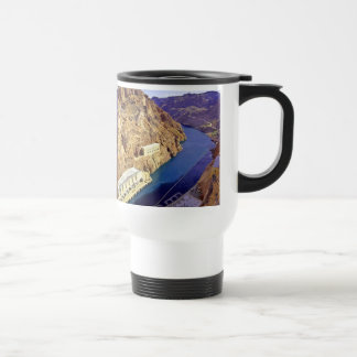 Hoover Dam in Arizona Travel Mug