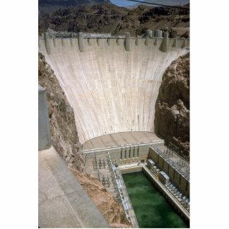 Hoover Dam, lower face, Nevada/Arizona, USA Cutout