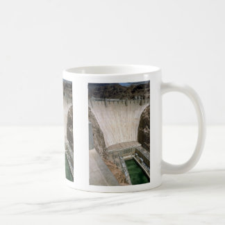 Hoover Dam, lower face, Nevada/Arizona, USA Mug