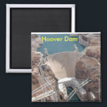 """Hoover Dam Magnet<br><div class=""""desc"""">hoover dam kitchen magnet</div>"""