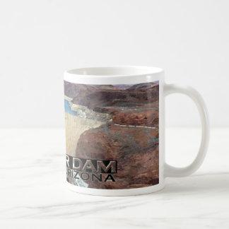 Hoover Dam Basic White Mug