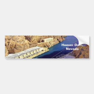 Hoover Dam, Nevada Bumper Sticker