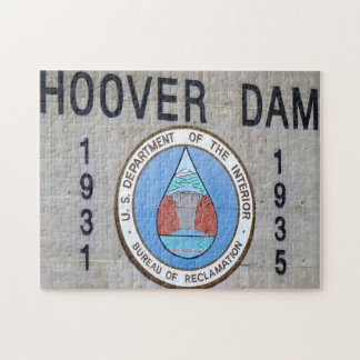 Hoover Dam Nevada. Jigsaw Puzzle