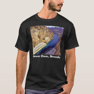 Hoover Dam, Nevada Men's Dark T-shirt