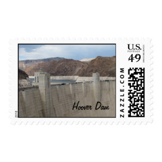Hoover Dam Postage Stamp