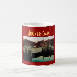 Hoover Dam (Red) Mug - Customized
