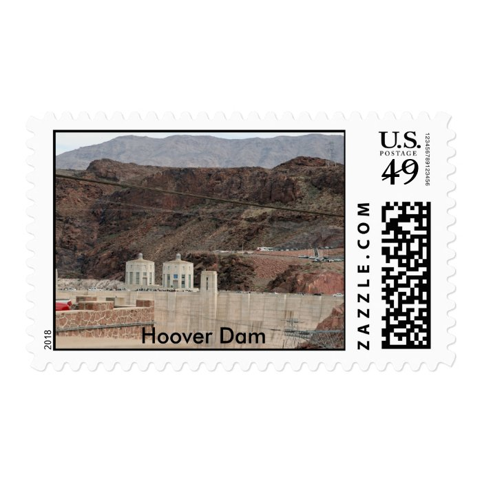 Hoover Dam Stamp