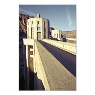 Hoover Dam Towers Art Photo