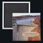 "Hoover Dam Travel Souvenir Fridge Magnet<br><div class=""desc"">Refrigerator magnets picture the Hoover Dam at Lake Mead.</div>"