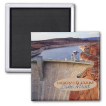 Hoover Dam Travel Souvenir Fridge Magnet