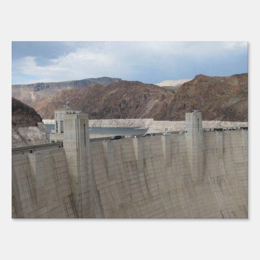 Hoover Dam Yard Sign