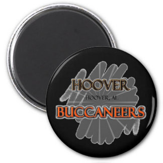 Hoover High School Buccaneers - Hoover, AL 2 Inch Round Magnet