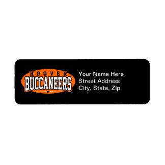 Hoover High School; Buccaneers Label