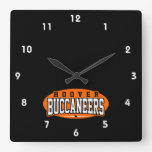 Hoover High School; Buccaneers Square Wall Clock