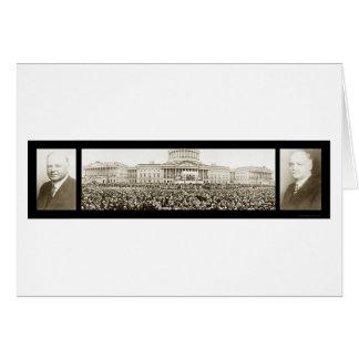Hoover Inauguration Photo 1929 Card