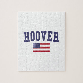 Hoover US Flag Jigsaw Puzzle