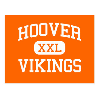 Hoover - Vikings - High School - North Canton Ohio Postcard
