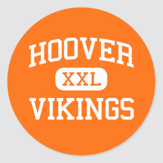 Hoover - Vikings - High School - North Canton Ohio Sticker