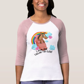 Hooves of Fire Baby Horse Long Sleeve Shirt