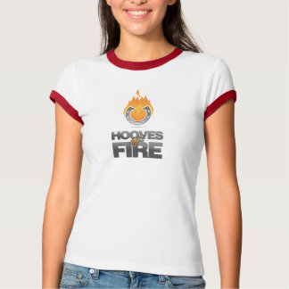 Hooves of Fire Ladies T-Shirt