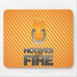Hooves of Fire Logo Mousepad