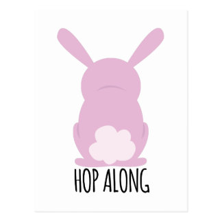 Hop Along Postcard