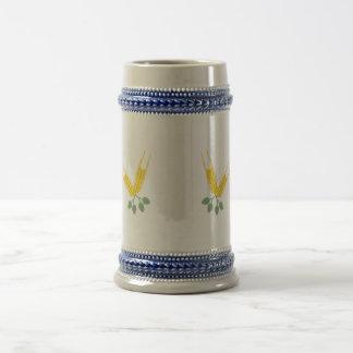 Hop barley coffee mug