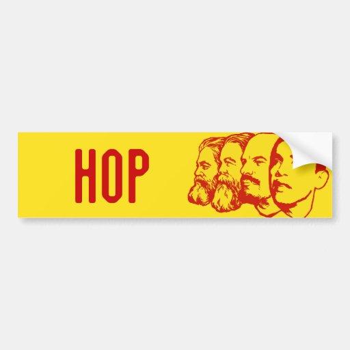 HOP bumper sticker Car Bumper Sticker