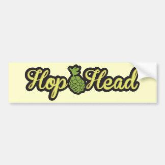 Hop Head - Bumper Sticker
