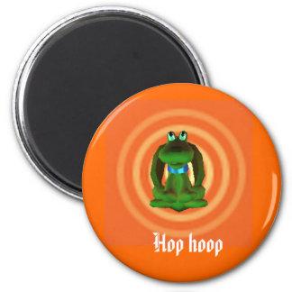 Hop hoop 2 inch round magnet