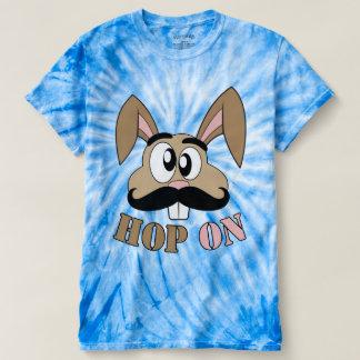 Hop On Mustache Rabbit T-shirt
