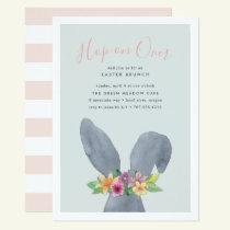 Hop On Over | Easter Brunch Invitation