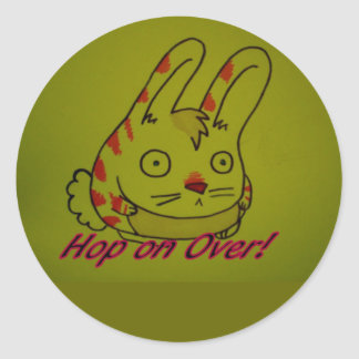 hop on over stickers