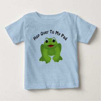 Hop Over To My Pad Frog T-shirt
