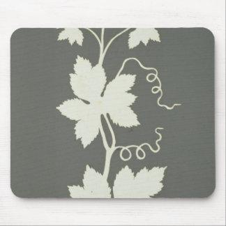 Hop plant mouse pad