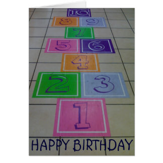 """""""HOP TO IT"""" AND HAVE A """"FUN BIRTHDAY"""" CARD"""