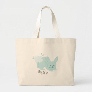 Hop To It Jumbo Tote Bag